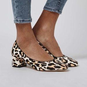 Leopard Ponyhair Pumps 🖤